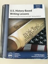 IEW US HISTORY-based WRITING LESSONS T.M., US map, & Vocabulary cards