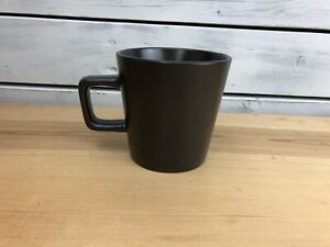 Stone + Lain Stoneware - Matte Black - Coffee Mug Set Of 4 - New in Box