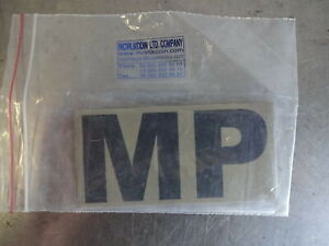 Military Police MP Army Patch Hook & Loop