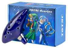 THE LEGEND OF ZELDA/ OCARINA 12 AGUJEROS CERAMICA- 12 HOLES IN BOX