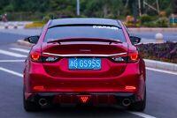 Rear Roof Window Spoiler Lip(Pad) Visor №1 for Mazda 6 / Atenza GJ, GL 2012-2019
