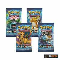 Pokemon Trading Card Game XY Evolutions | 4 Sealed Booster Packs | XY-12