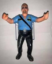 1989 WWF LJN Big Boss Man wrestling figure WWE Hasbro Mattel AWA WCW