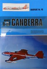 Warpaint Series No.045 - Martin B-57 Canberra          40 Pages         Book
