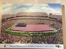 Baltimore Ravens vs. Pittsburgh Steelers, September 11, 2011 Sealed NFL Poster
