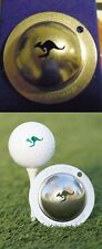 1 only TIN CUP GOLF BALL MARKER KANGAROO DOWN UNDER - buy any 2 get special