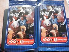 100 years of magic walt disney world trading cards 2 packs still sealed rare