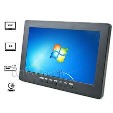 7 inch LCD Color CCTV Monitor with VGA AV Yuv Port 800*480 Resolution