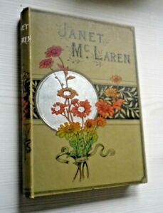 Janet MacLaren The Faithful Nurse 1894 Hardback Book by W H G Kingston