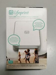Lifeprint 3x4.5 Portable Photo and Video Printer for iPhone and Android