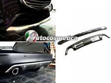 protezione paraurti anteriore e posteriore acciaio satinato/cromo Mazda CX3