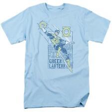 Green Lantern symbol DC Comics rings and power graphic adult t-shirt GL351