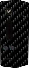 Skin Decal Wrap For Wismec Reuleaux RX200 TC Vape Vinyl Sticker -BLACK CARBON