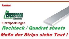 Evergreen No.166 plastic strips sheets 2,0 x 3,2 mm - 35 cm lang - 8 Stck.
