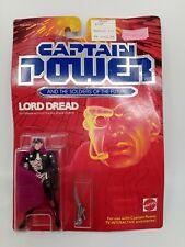 Vintage Captain Power LORD DREAD 1987 MATTEL MOC