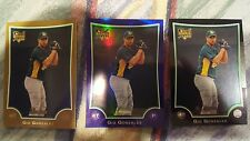 2009 Bowman #BDP52 Gio Gonzalez RC Angels Nationals lot of (3)