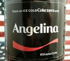 Share A Coke Zero With Angelina 2017 Limited Edition Coca Cola Bottle