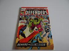 The Defenders #21 Marvel Comics March 1975
