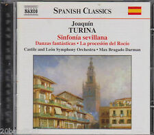 SPANISH CLASSICS TURINA SINFONIA SEVILLANA 2002 NAXOS 747313595525