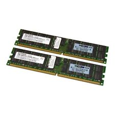 Elpida 4GB (2 x 2GB) PC2-3200 ECC Reg Server RAM EBE21RD4AEFA-4A-E 345114-051
