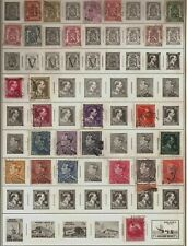 325 +/- Belgium Postage Stamps Parcel Post Includes 100 Lotta Stamp Club packet