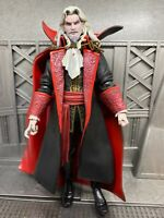 """NECA Castlevania Dracula Closed Mouth 7"""" Action Figure Player Select Loose"""