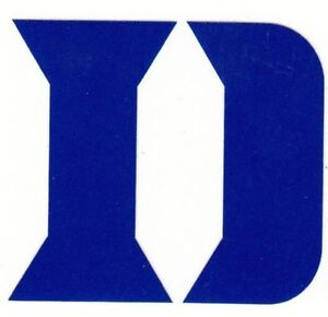 REFLECTIVE Duke Blue Devils fire helmet decal sticker up to 12 inches