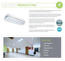 Hispec IP65 3w LED Emergenza Luce Della Paratia Universale Anti/Mantenuto EM3