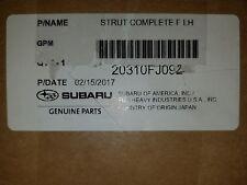 2013 SUBARU CROSSTREK COMPLETE LEFT FRONT PASSENG SIDE STRUT NEW OEM 20310FJ092