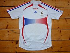 Medium France Football shirt 2006 Football Jersey Maglia Maillot porté English