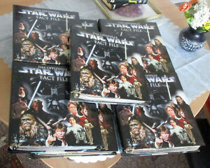STAR Wars Das Offizielle Star Wars Fact File 7 Ordner voll De Agostini