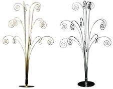 Gisela Graham 60cm Metal 15 Arm Bauble & Ornament Tree Display Stand
