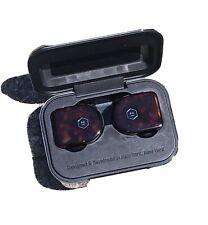 Master & Dynamic MW07 True Wireless Earbuds - Used. Tortoise
