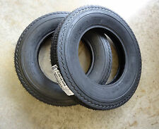 TWO New 5.30-12 Hirun 6 ply Trailer Tires Load Range C w/ free stems Hi-run