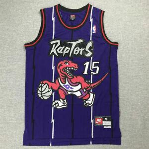 15 Basketball-Trikot Atmungsaktiv Und Schnell Trocknend Bestickte Jersey Sport-T-Shirt S-XXL LDFN Basketballtrikot Vince Carter No