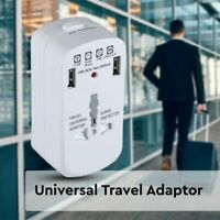 Universal Travel Adapter  With Surge Protection & In-Built USB Port