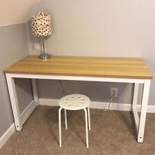 Wood Computer Table Home Study Desk Office Furniture PC Laptop Workstation-oak