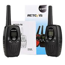 1 paire Retevis RT628 Child walkie-talkie pour enfants 8CH UHF 446MHz LCD Écran