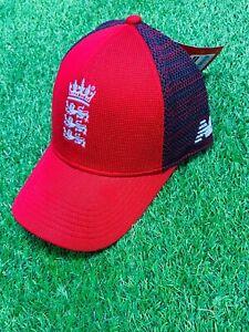2021 New Balance England T20 Cricket Snap Cap One Size CUA1014
