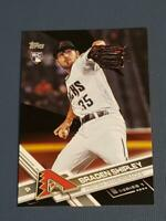 Braden Shipley Diamondbacks 29/66 2017 Topps Black #15
