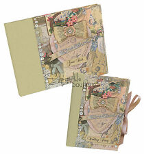 VINTAGE WEDDING DIARY & GUEST BOOK - Planner/Planning/Organiser/Engagement Gift