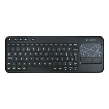 Logitech K400 Plus Funk Tastatur Wireless Keyboard QUERTZ deutsch für PC / Mac