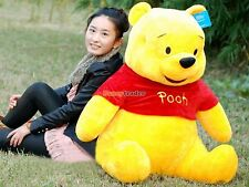 "40""Giant big Larger Winnie Bear Plush Stuffed HUGE animals toys doll kids gift"