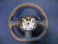 Steering Wheel BMW Mini Cooper R55 R56 R57 R58 R59 Leather Flat Bottom paddle