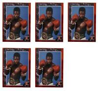 (5) 1992 Legends #7 Terry Norris Boxing Card Lot