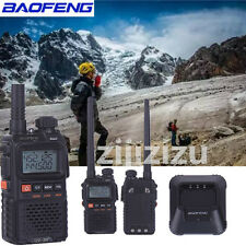 Baofeng UV-3R+ Walkie Talkie VHF/UHF Dual Band 136-174/400-470MHz Two Way Radio