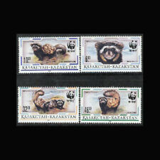 Kazakhstan, Sc #171-74, MNH, 1997, WWF, World Wildlife Fund, AR5IRD
