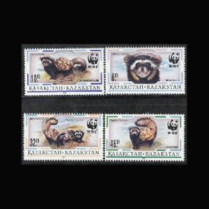 Kazakhstan, Sc #171-74, MNH, 1997, WWF, World Wildlife Fund, AR5IRD-C