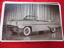 1955 LINCOLN CAPRI CONVERTIBLE 11 X 17  PHOTO   PICTURE