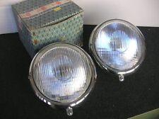 BOSCH HEAD LIGHTS LAMP FOR PORSCHE 356 / VW SPLIT OVAL BUG KÄFER COX - NOS